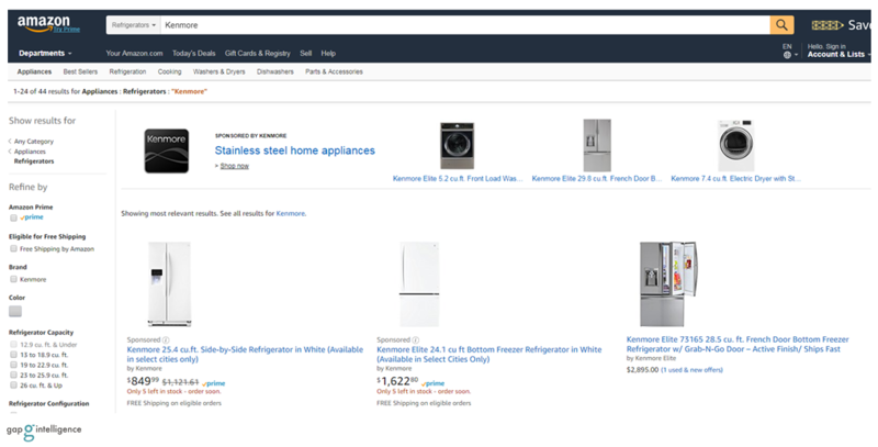 Kenmore Assortment on Amazon.com
