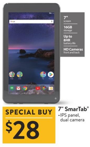 Tablet Walmart Deal