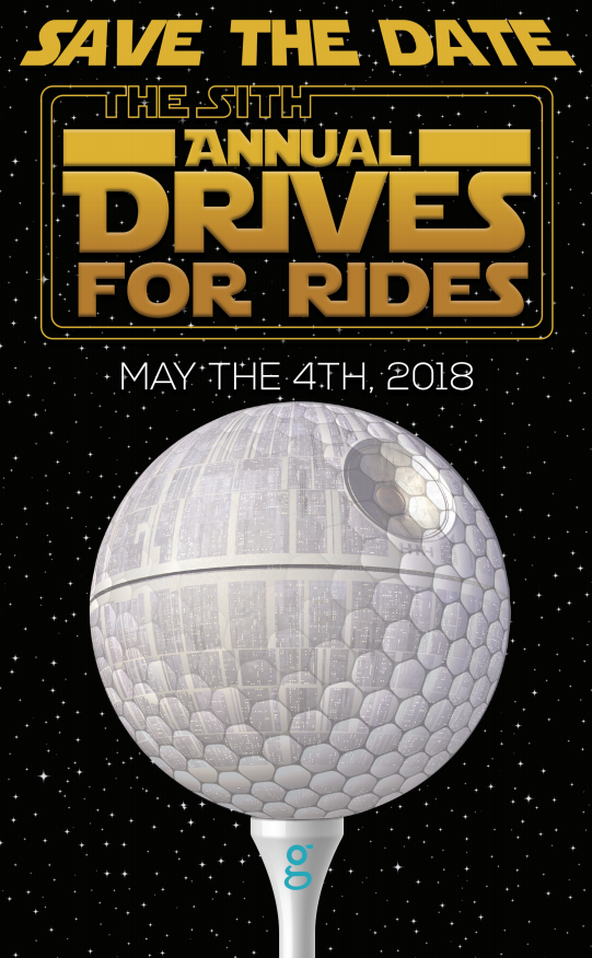 Drives for Rides Save the Date
