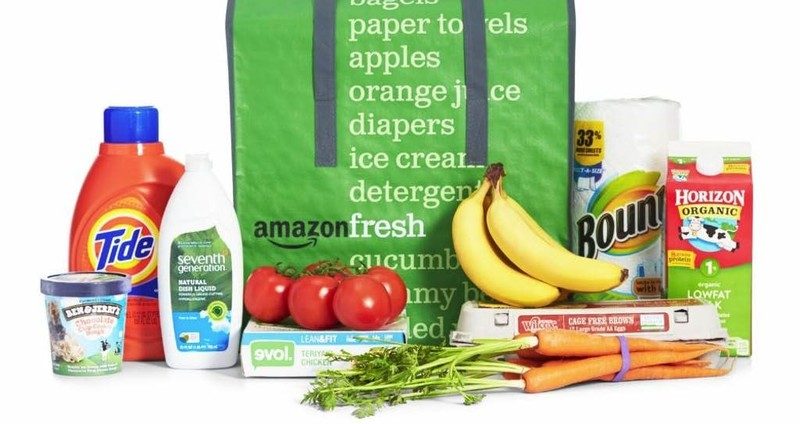 amazon grocery services
