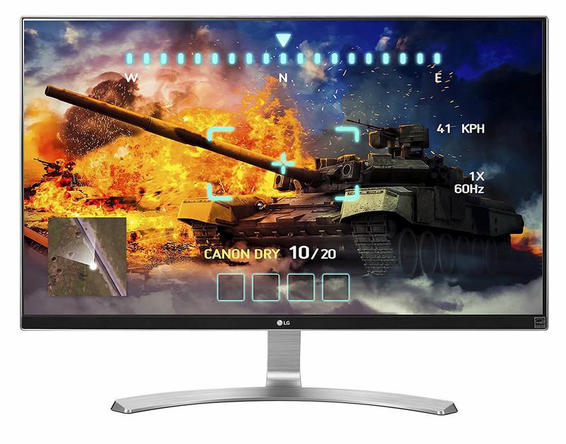 A gaming LG monitor