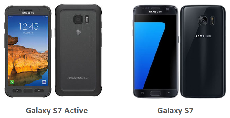 Samsung Galaxy S7 Active and Galaxy S7