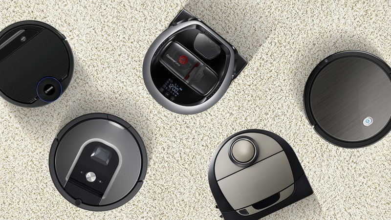 Robotic vacuums from some of the leading brands