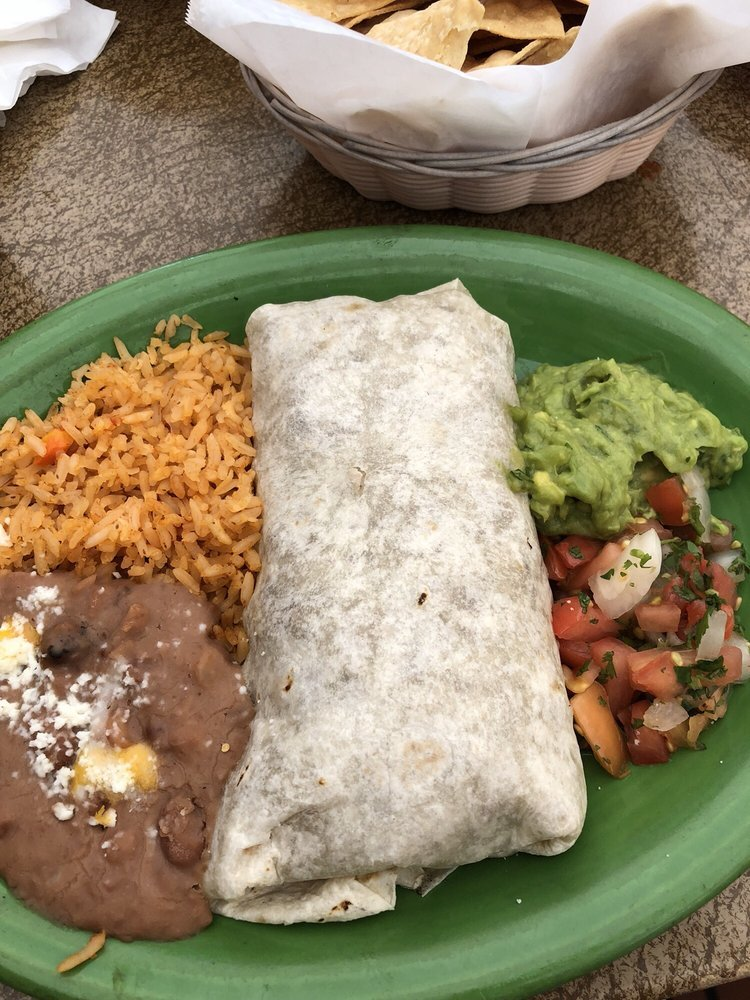 California burrito from Cafe Coyote in Old Town, San Diego