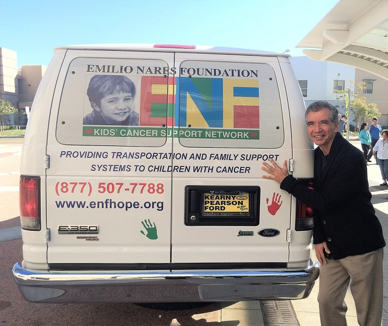 Richard and an ENF Van