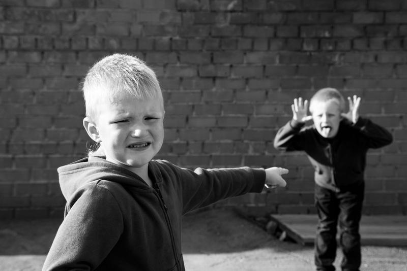 Kids fighting
