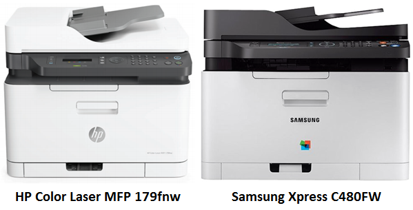 HP Samsung Side-By-Side Comparison