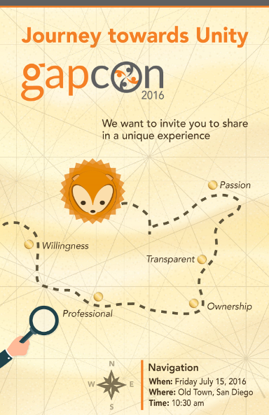 gapCon flyer