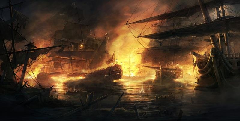 Burning Ships