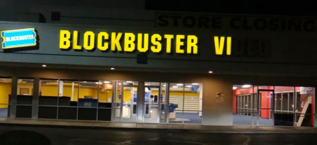 Blockbuster Store Closure