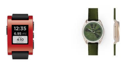 Pebble and What? Watch Smart Watches