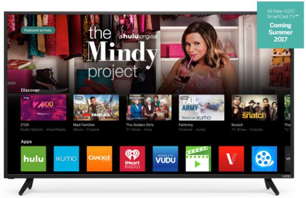 Image of Vizio SmartCast TV OS