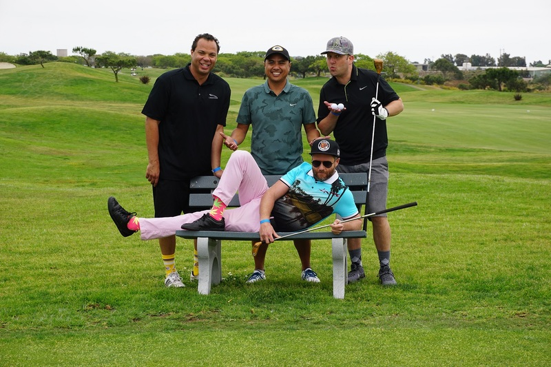 Golfers at Drives for Rides.