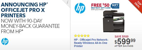 HP Business Inkjet Money-Back Guarantee
