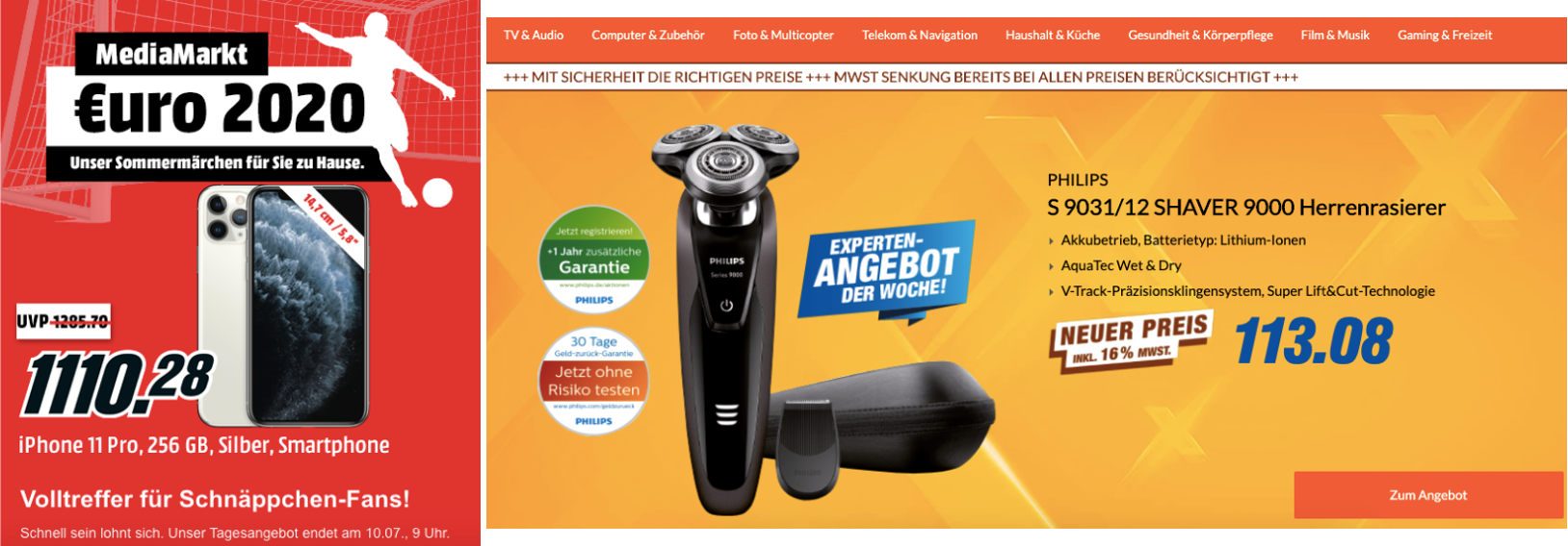Targeted Ads Germany