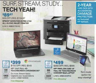 Sams club laptop promotions - surf, stream, study