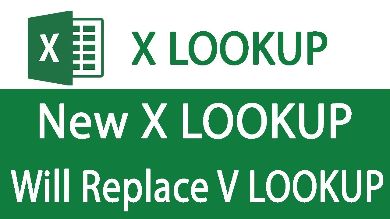 New XLOOKUP will replace VLOOKUP