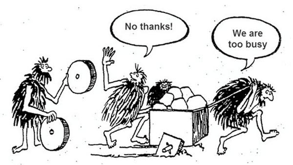 Cartoon on Tech Debt