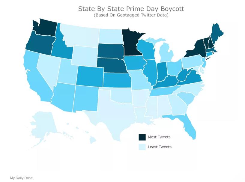 anti prime day tweet map